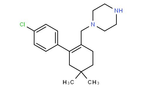 61110004 - 1-{[2-(4-chlorophenyl)-4,4-dimethylcyclohex-1-en-1-yl]methyl}piperazine | CAS 1228780-72-0